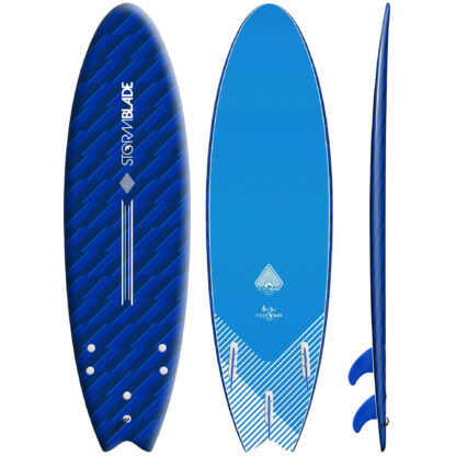 """STORM BLADE 6'6""""SWALLOW TAIL - BLIZZARD BLUE"""