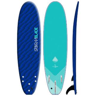 STORM BLADE 7ft SURFBOARD - BLIZZARD BLUE