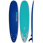 STORM BLADE 8ft SURFBOARD - BLIZZARD BLUE