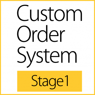 Custom Order System - Stage1