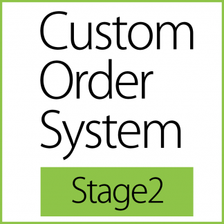 Custom Order System - Stage2