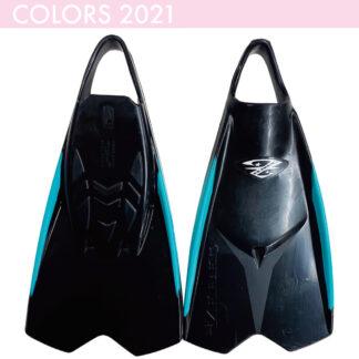 ZEBEC ブラック / ターコイズ(73 モデル) 2021モデル